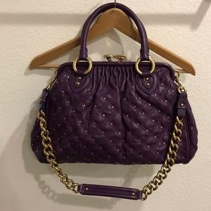 Marc Jacobs quilted stardust stam bag